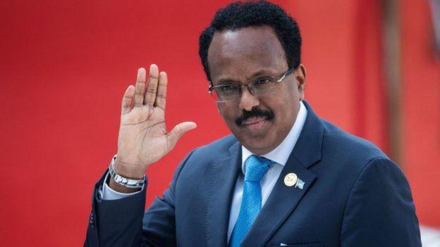 President Mohamed Abdullahi Mohamed
