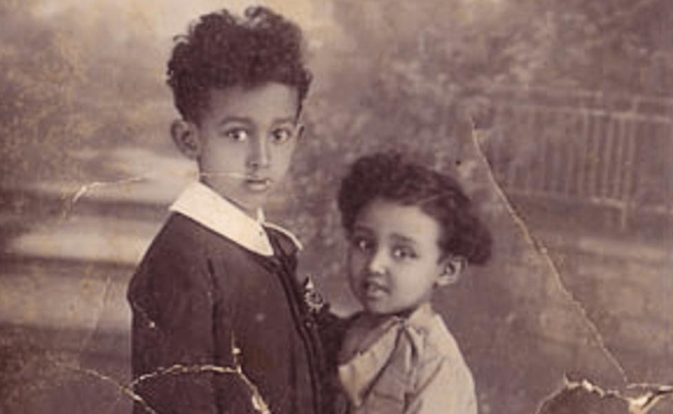 Giorgio and Isabella Marincola pictured in 1929